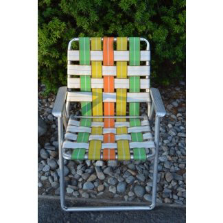 vintage-webbed-lawn-chair-aluminum